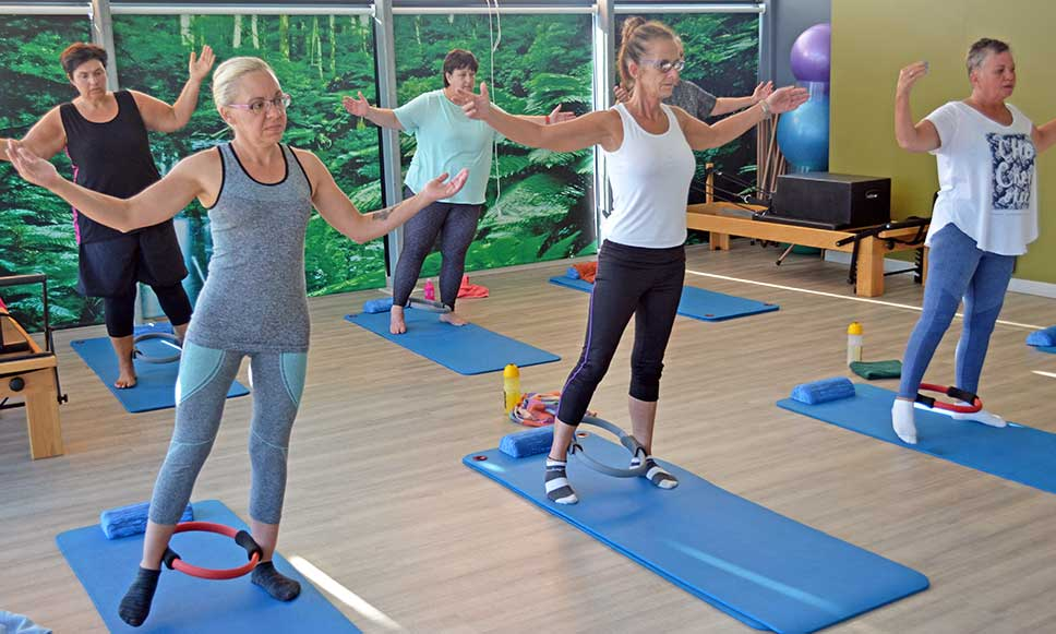 Pilates Classes at Wings Fitness
