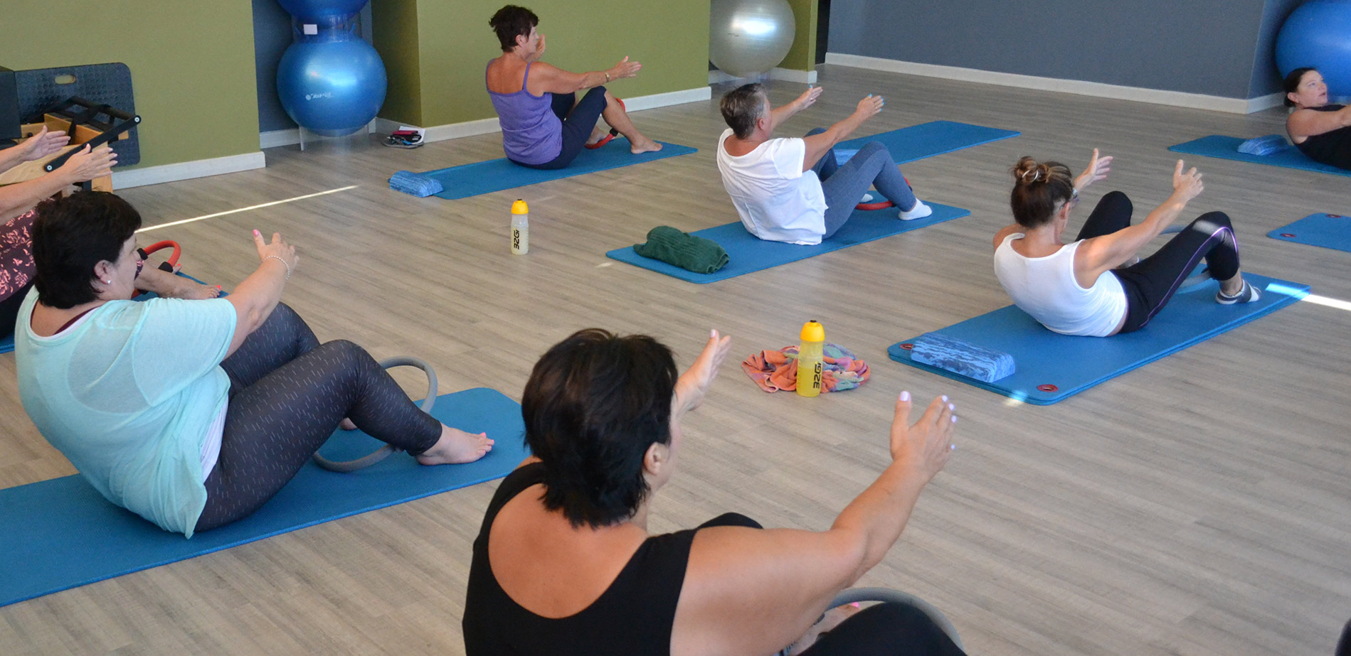 Pilates Classes at Wings Fitness Studio